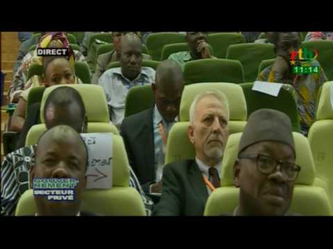 Restitution des travaux de la rencontre Gouvernement/secteur privé par Seydou R. Ouédraogo