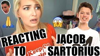 REACTING TO JACOB SARTORIUS | THE CRINGIEST KID ON THE INTERNET!? Video