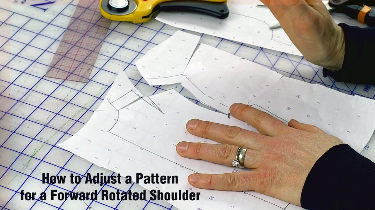 j stern designs / How to Adjust a Pattern if Your Shoulder Rotates ...