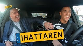 Mo Ihattaren part 2 - Bij Andy in de auto! (English subtitles)