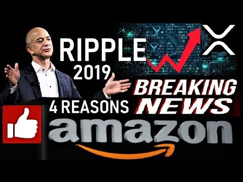 RIPPLE NEWS: 4 Reasons Why Amazon Will Choose XRP [ACTUAL TOPIC]