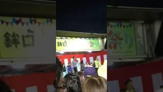 2017.7.15 カミナリ地元で漫才!たくみくんは何番目に叩いたのかを当て...