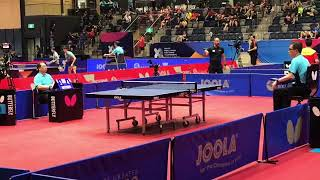 Amazing rally in table tennis