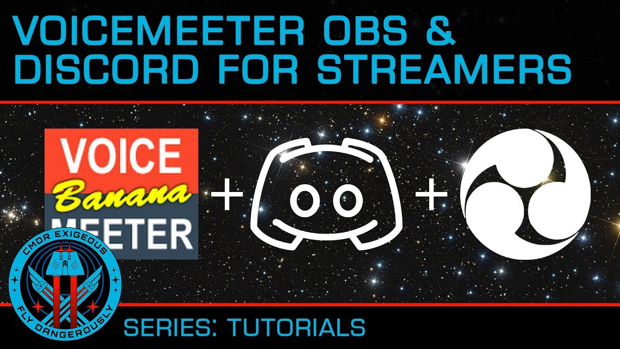 Tutorial: Voice Meeter Banana, OBS and Discord for Streaming