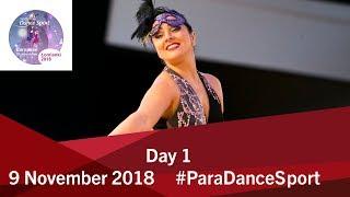Day 1 | World Para Dance Sport European Championships | 2018 Lomianki