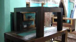 Recycled Teak Fishing Boat Wood Furniture