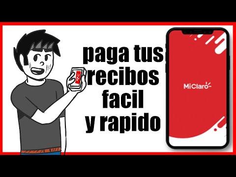 Como Pagar tu recibo / factura de claro por la app MiClaro
