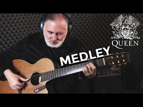 5 Legendary QUEEN Songs Medley | Fingerstyle Guitar