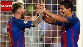BARCELONA 7-0 CELTIC   Did Francis Cry?!?! [Messi Hat Trick, Neymar Free Kick]