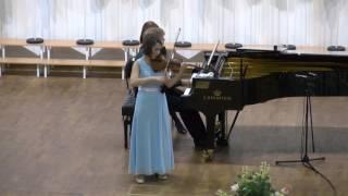 Полина Сенатулова Ф Мендельсон Концерт для скрипки с оркестром E Moll