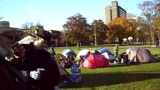 Tent City on Halifax Common Sunday Morning - 1