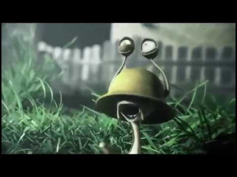 Вторжение слизня / Slug Invasion (2012) Короткометражный мультик