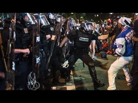 Trump Says Drugs a Factor in Charlotte Unrest