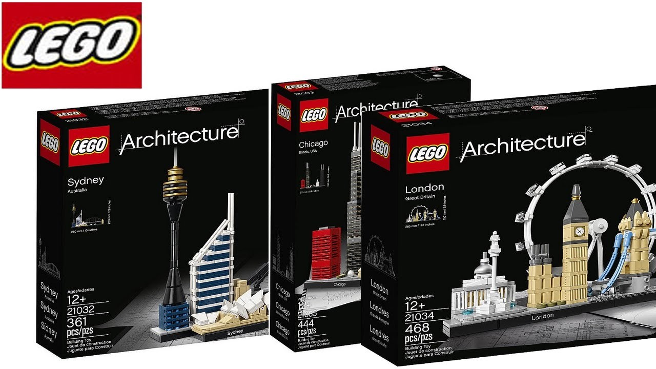 New Lego Architecture Winter Sets 2017 Images Released Sydney London Chicago