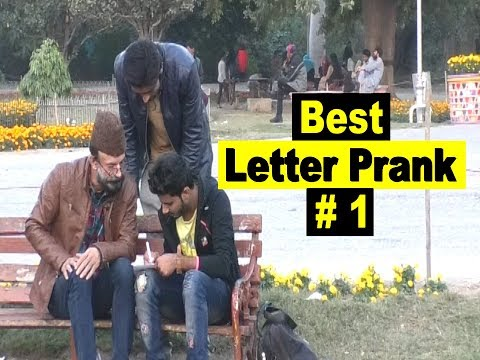 Best Letter Prank # 1 | Allama Pranks | Lahore TV | Pakistan | India | UK |UAE| USA | KSA