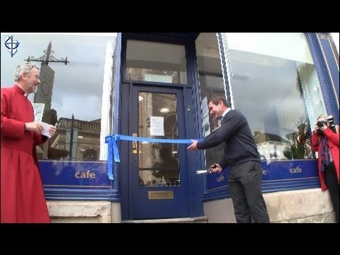 Opening of Derby Cathedral Centre Bookshop and Café