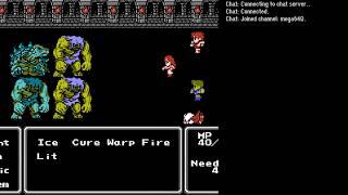 """Final Fantasy II - No """"Fight"""" Run (Stream 3 - Unedited)"""
