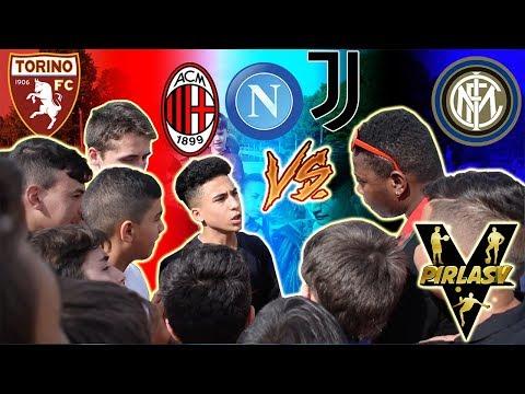 FAN Juventini Vs Inter, Milan e Napoli - Botta e Risposta Tra Tifosi