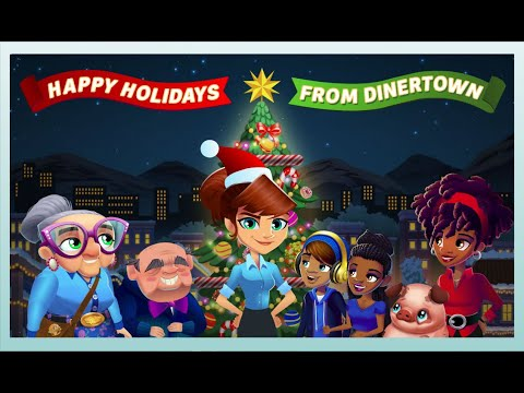 Diner DASH Adventures Presents Dashing Through The Snow - A Holiday Animation