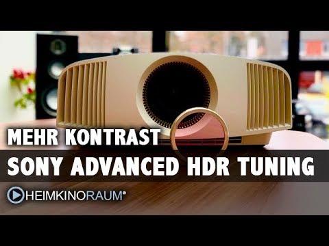 Advanced HDR Tuning für Sony Beamer ab 24.3.2018 exklusiv bei HEIMKINORAUM!