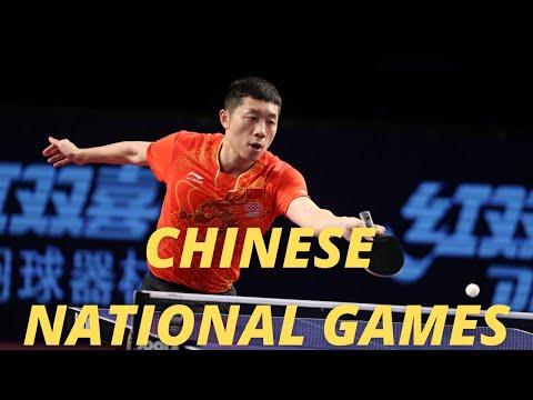 Xu Xin vs Xu Ruifeng | 2021 Chinese National Games (QUAL)