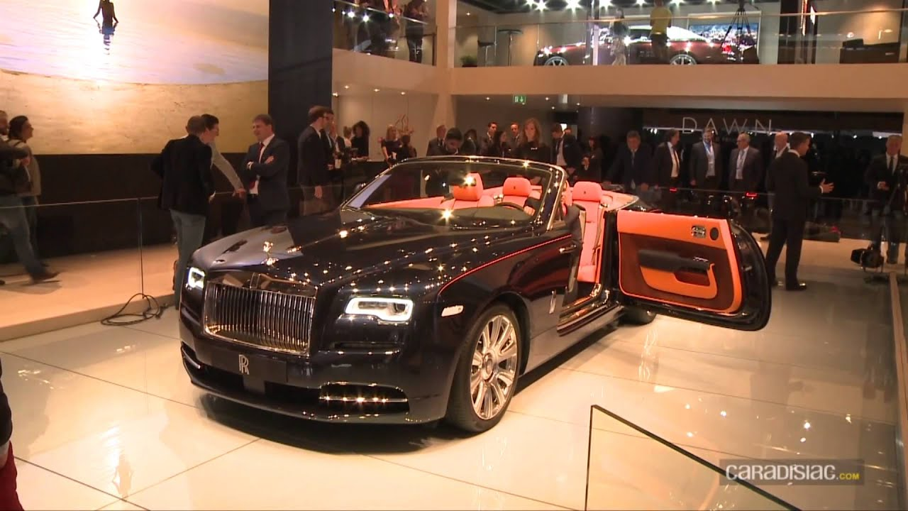 Video Rolls Royce Dawn - YouTube