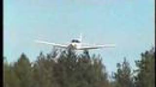 Me flying Piper Warrior III landing at 38W
