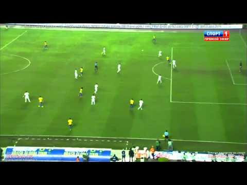 Brazil vs Serbia 2014 1 0 ~ All goals and Highlights ~ Internation Friendly Match
