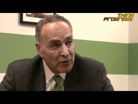 ThinkProgress' Interview with Sen. Chuck Schumer (D-NY) - March 9, 2011