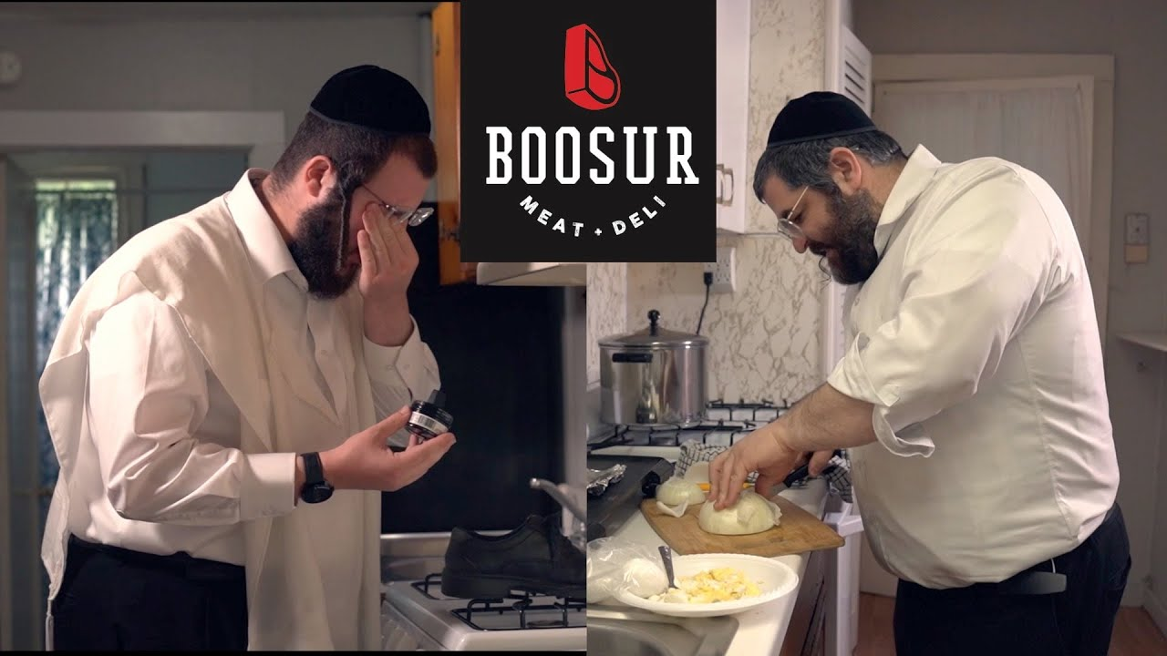A disaster of an Erev Shabbos in the kitchen