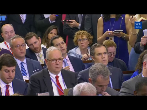 Thumbnail: Sean Spicer CONFRONTED on Mike Flynn security clearance CNN 4/27/2017