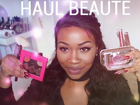 Haul Beauté , NYXcosmetics, makeUp geek, house of lashes Hudabeauty ..etc