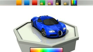 Trafic Racer Simulator - New Bugatti Veyron and Police Car - Android Gameplay HD screenshot 3