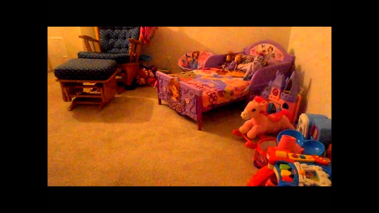 Sofia The First Toddler Bed 112113