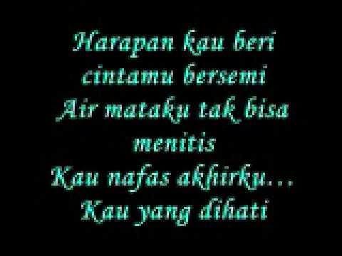 Buatku Di Sana with lyrics on screen Mafa ft Ronnie OST Seindah Sakura
