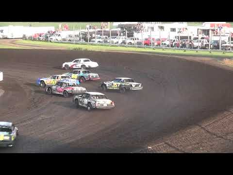IMCA Hobby Stock Makeup feature Benton County Speedway 8/12/18