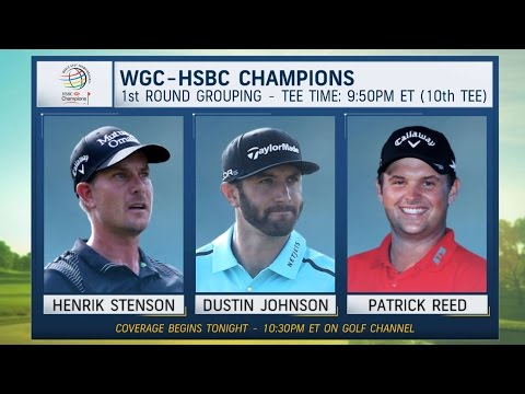 Morning Drive: WGC-HSBC Champions 1st Round Groupings | Golf Channel