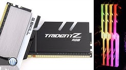 Der perfekte RGB-Arbeitsspeicher! G.Skill Trident Z RGB RAM