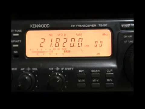 Voice of Russia (transmitter Novosibirsk, Russia) in english - 21820 kHz