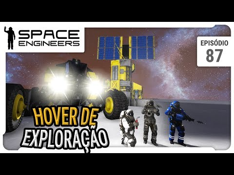 Space Engineers - Coop - Hover de exploração - ep 87