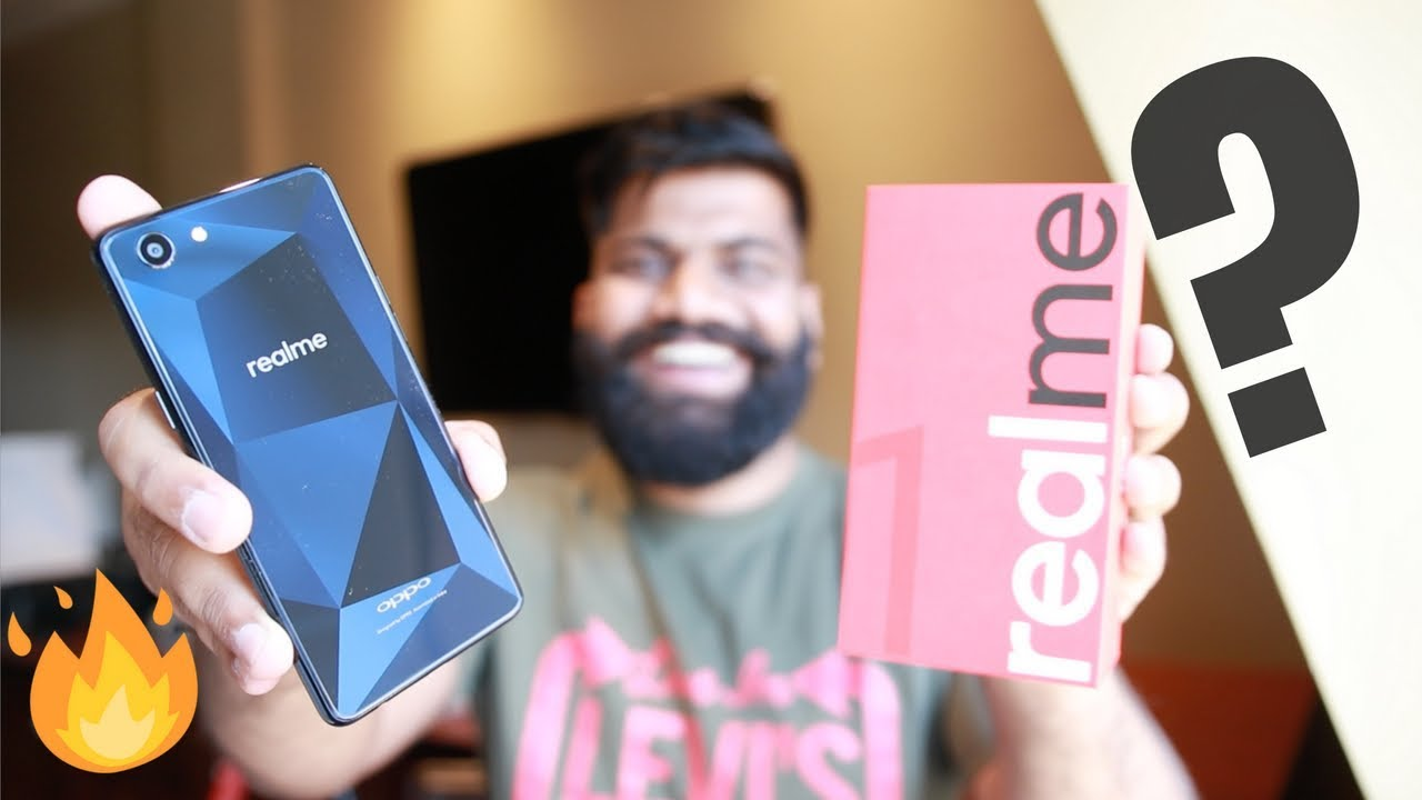 OPPO RealMe 1 Unboxing and First Look - The New Xiaomi Killer