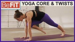 Yoga Core & Twists Abs Workout: BeFiT Trainer Open House- Laurel Erilane