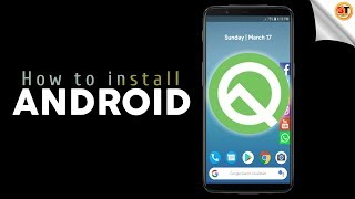 Android Q Launcher for any Android Phone | Android 10