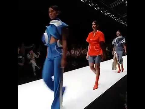 Regina in Jakarta Fashion Week