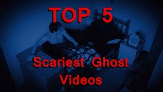 TOP 5 Scariest Ghost Videos Caught on Tape
