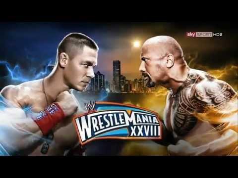 WWE 2012  WrestleMania XXVIII The Rock Vs. John Cena Promo (HD)