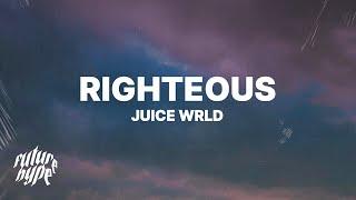 Gambar cover Juice WRLD - Righteous (Lyrics)