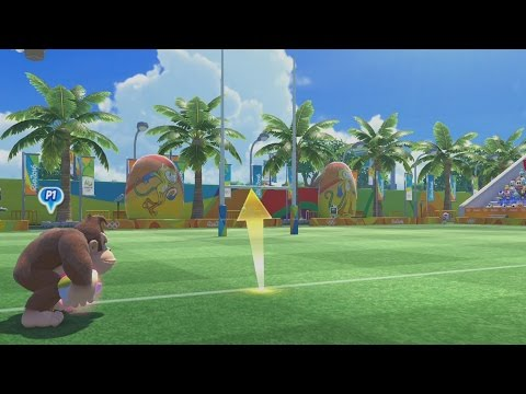 Mario & Sonic at the Rio 2016 Olympic Games Gameplay Part 2 - Rugby (Wii U)
