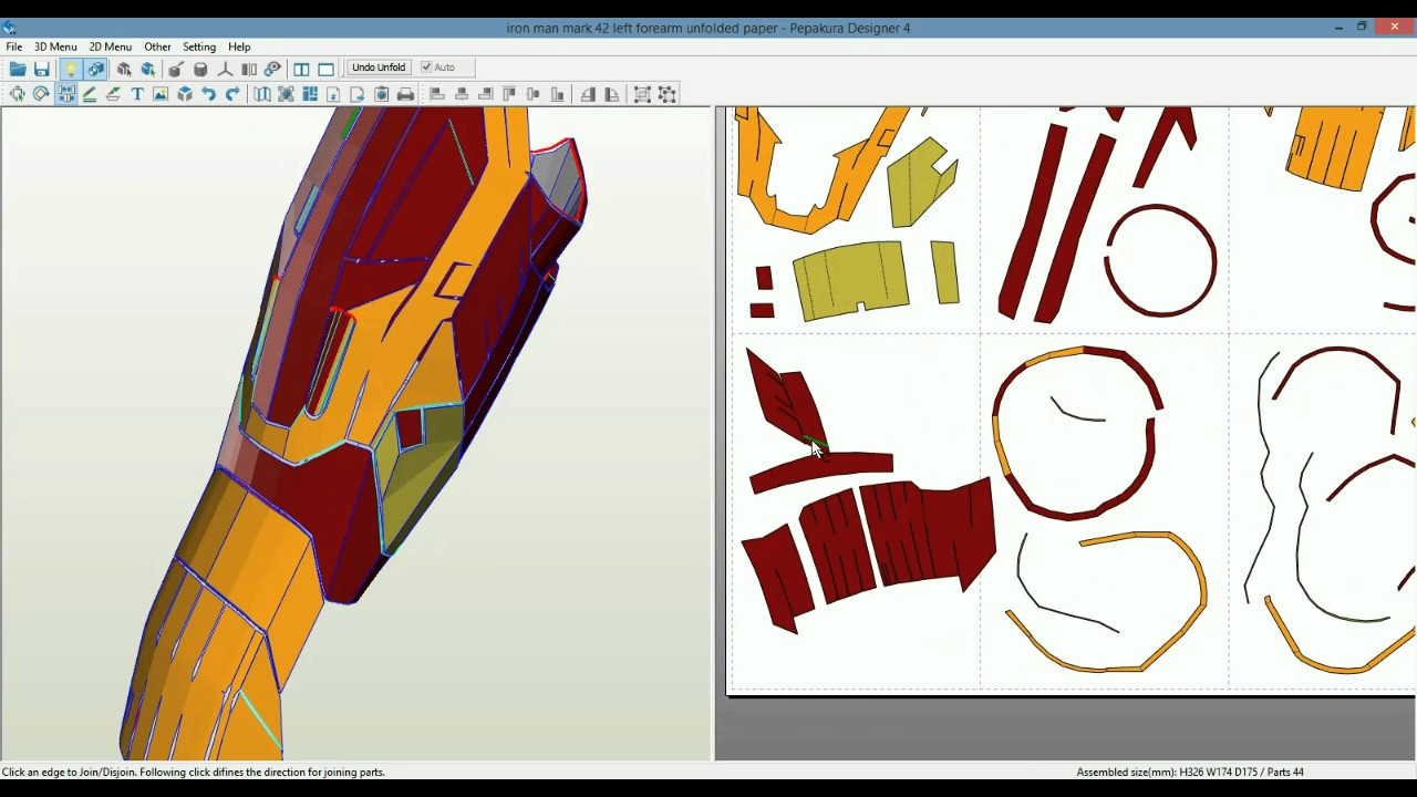 iron man suit template - iron man armor making the shell youtube