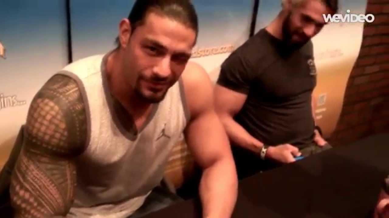 WWE Superstar Roman Reigns Answers Fan Question at Adventureland ...